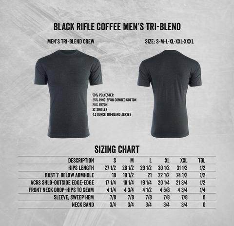 Black Rifle Coffee BRCC AR COFFEE SHIRT - CHARCOAL - XL