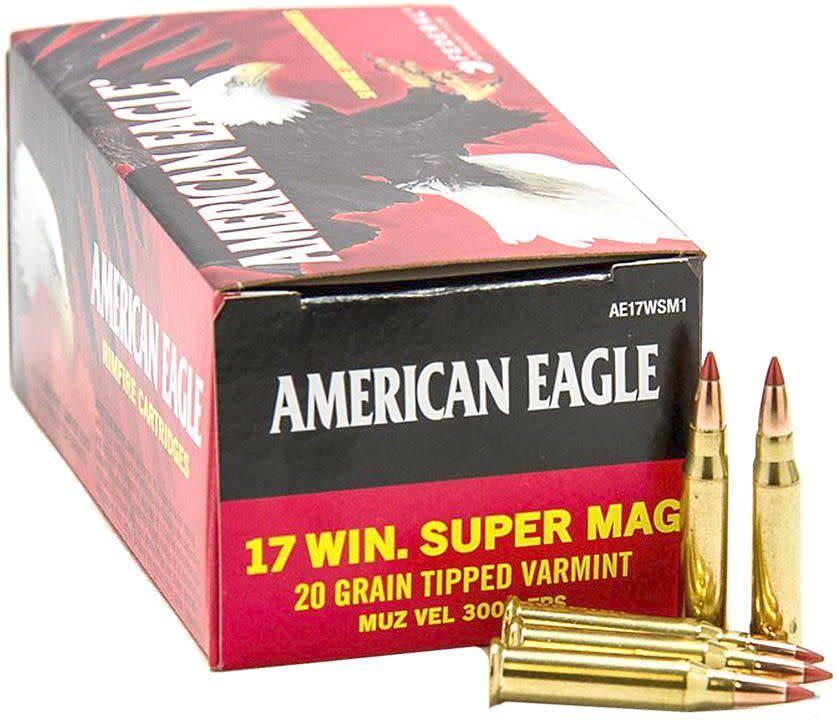 Federal Ammunition American Eagle 17 Win Super Mag