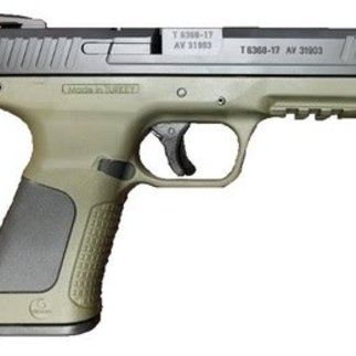 "Girsan Girsan MC28 SA Semi-Auto Pistol, 9mm, Military Green, 4.25"" Barrel, 10 Round"
