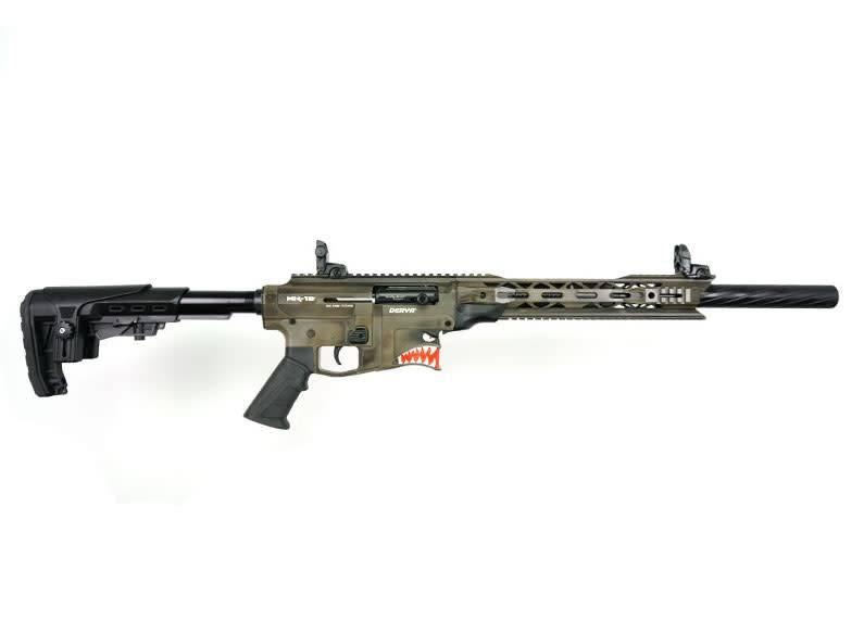 Derya Derya MK-12 Semi-Auto Shotgun Spitfire Edition with Vertical Magazine