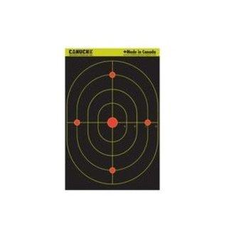 Canuck Canuck Reactive Targets 12x18 25 Bullseye Target