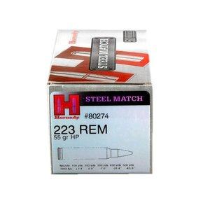 Hornady Hornady Steel Match 223 Remington 55 Grain HP Box Of 50