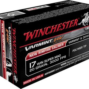 Winchester Winchester 17 Win Super Mag, 20gr, 3000FPS