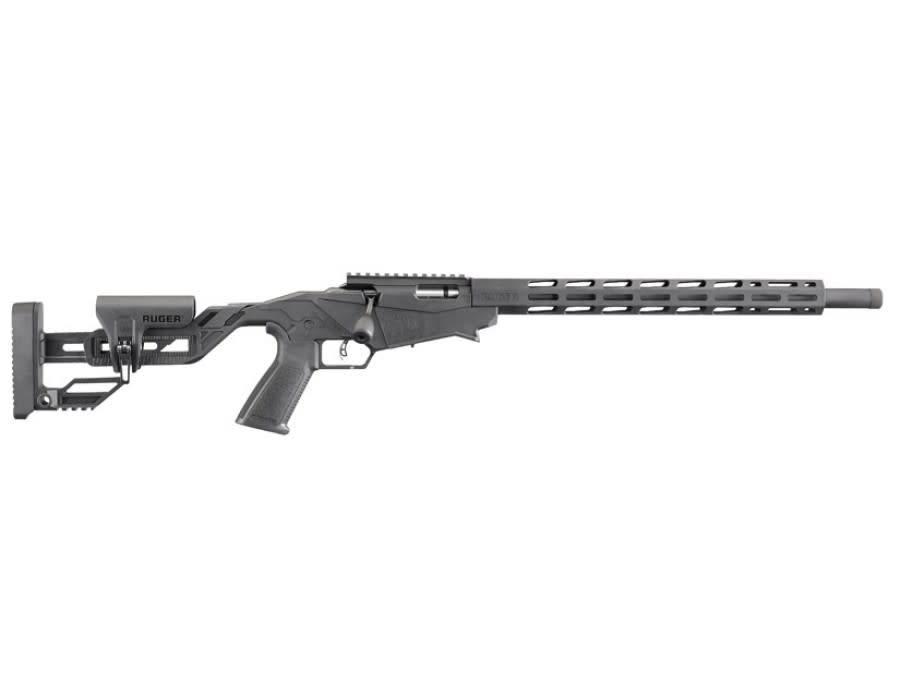 """Ruger Ruger Precision Rimfire Bolt Action Rifle, .22LR, 18"""" Barrel, 10 Rounds"""