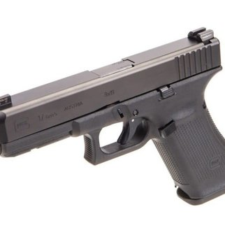 Glock Glock 17 Gen 5 Semi-Auto Pistol, 9mm, GNS (Glock Night Sights), 10 Rounds