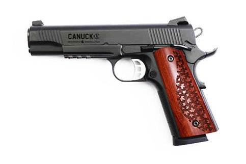 """Canuck Canuck 1911 Semi-Auto Pistol, 9mm, Blued, 5"""" Barrel, Single Action, 9 Rounds"""