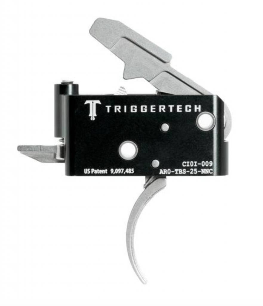 Trigger Tech Trigger Tech Adaptable Curved AR15 Primary Trigger