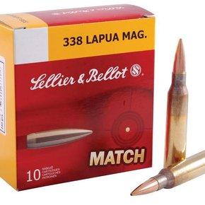 Sellier & Bellot Sellier & Bellot 338 Lapua 250gr HPBT 10 per Box