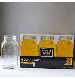 32oz  Orchard Road Jars Quart - Regular Mouth