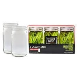 32oz Wide Orchard Road Jars Quart Mouth