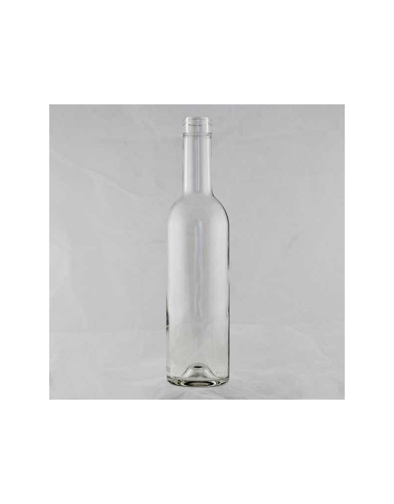 375 Ml Clear Wine Bottle Bordeaux