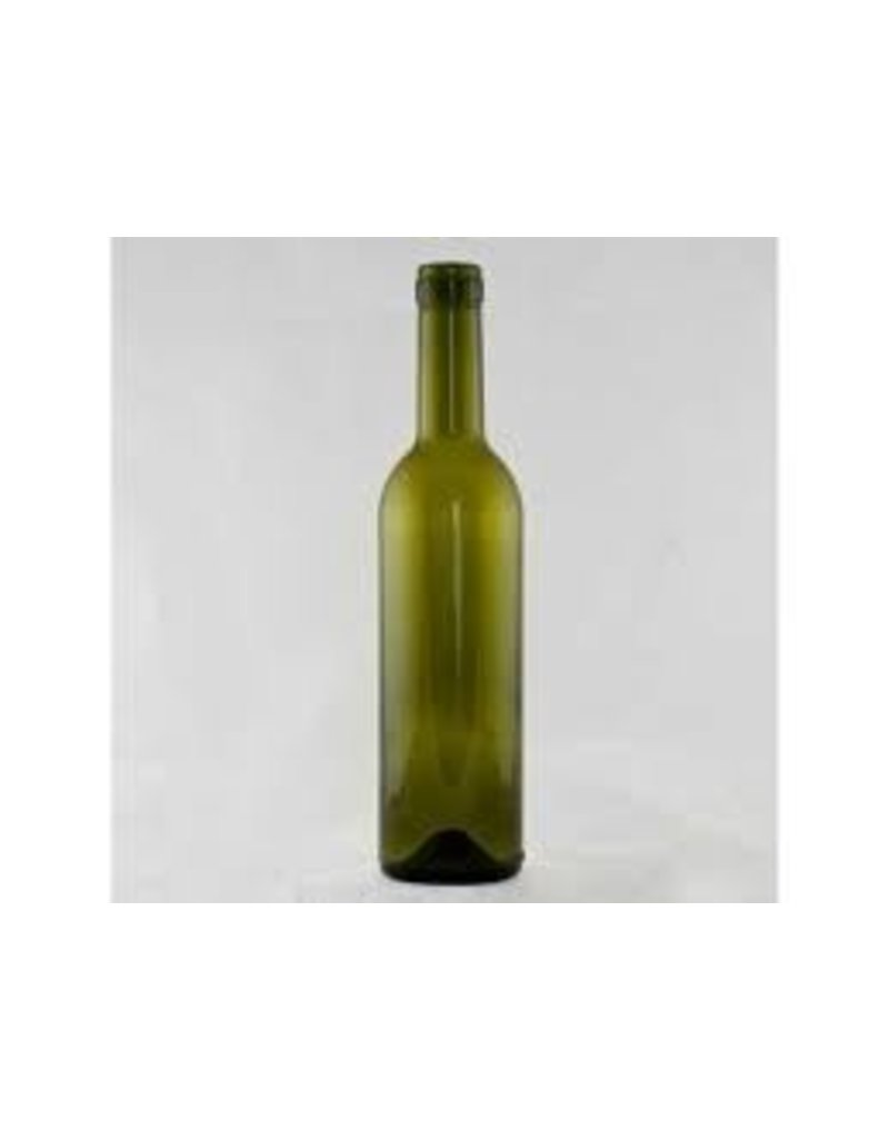375 Ml Green Wine Bottle Bordeaux