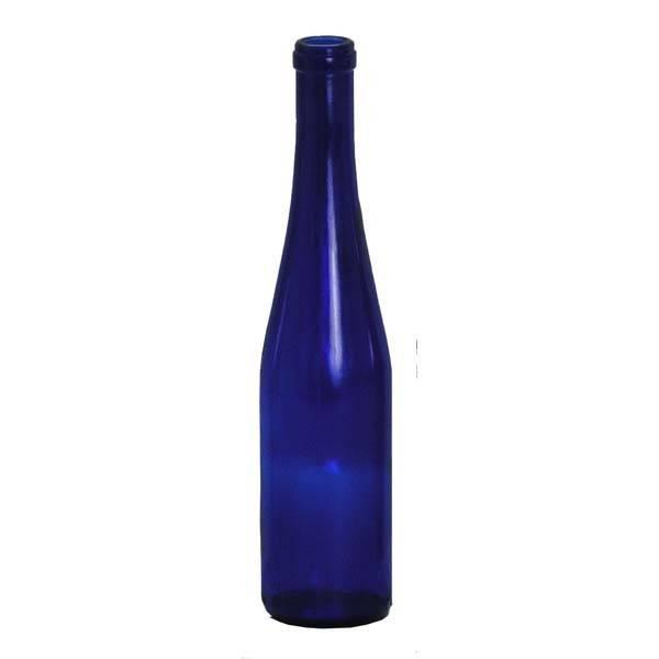XYZ - 375ml Stretch Cobalt Bottle 12 Blue Hock 12/Case