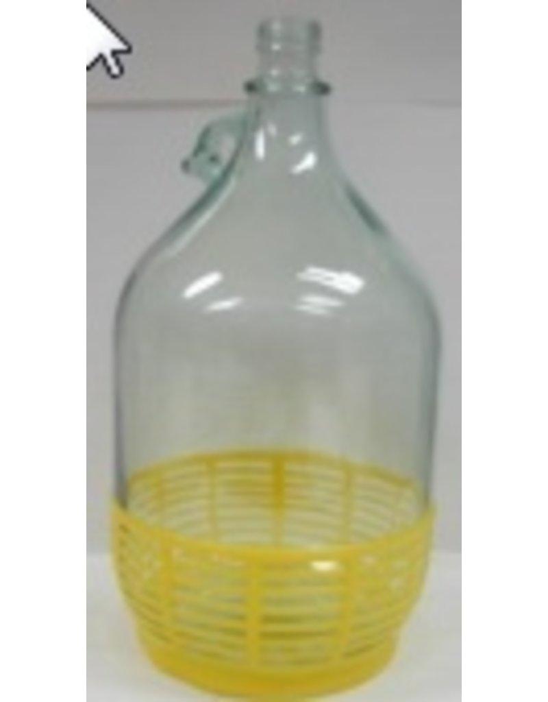 5 Liter Jug W/ Yellow Plastic Single