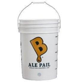 6.5 Gallon Bottling Bucket W/ 1 Hole Ale Pail