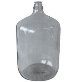 6.5 Gallon Italian Glass Carboy 65gc