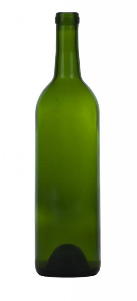 750 Ml Dark Green Wine Bottle (CWG-017)