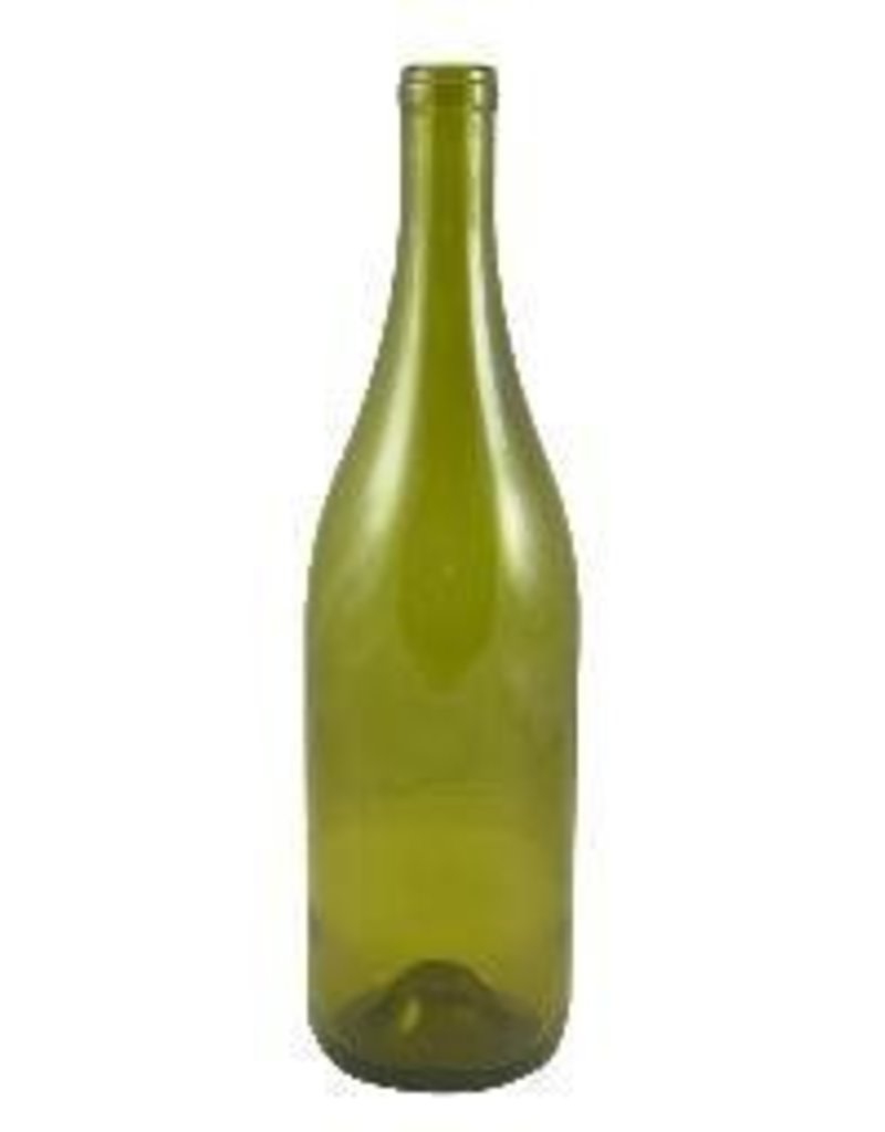 750ml Dead Leaf Green Burgundy Style Bottles Punted 12/Case