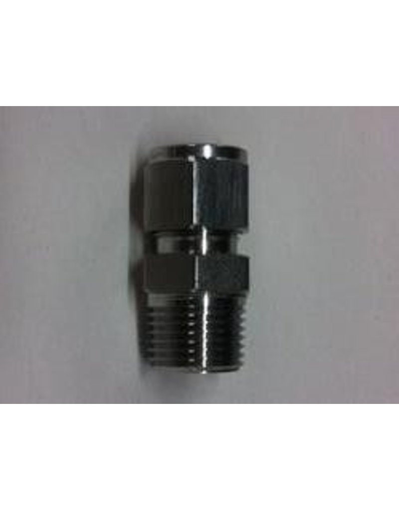 Proflow Dynamics 1/2 Npt X Large Tube Compress Compression Fitting Proflow Camlock