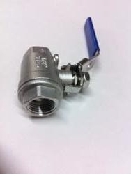 "Proflow Dynamics 1/2 Stainless Ball Valve"" Proflow Camlock 2 Piece Ss304"