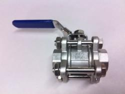 "Proflow Dynamics 1/2 Stainless Ball Valve"" Proflow Camlock 3 Piece Ss304"