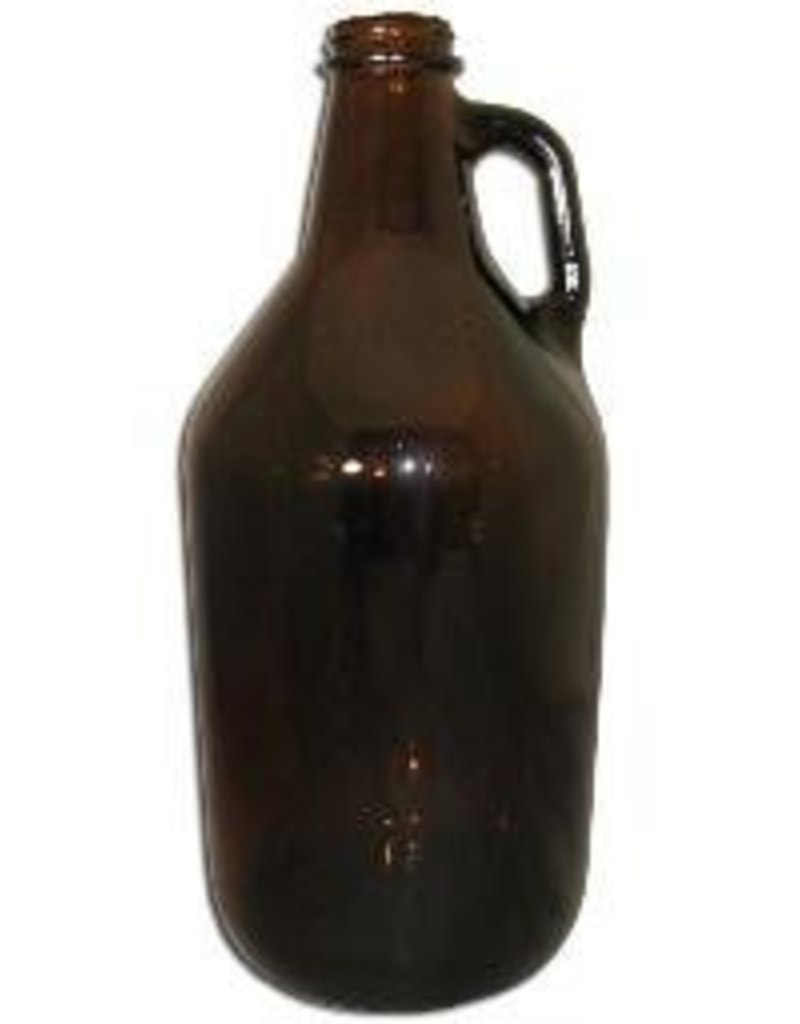 1/2 Gallon Amber Jug \ Growler (Single) jugs