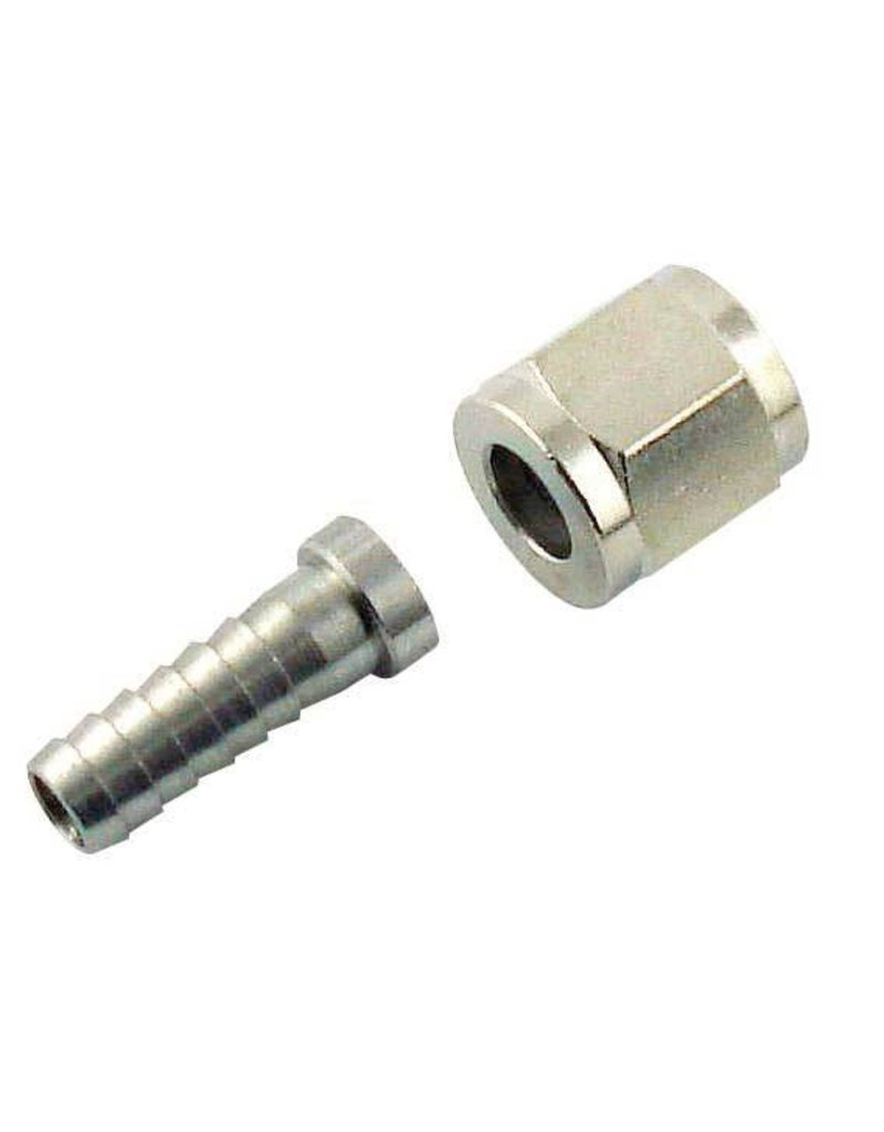 Beer Nut 1/4 Barb Stem And 1/4 Keg Connector