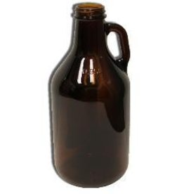 1/4 Gallon Amber Jug \ Growler (Single) Jugs