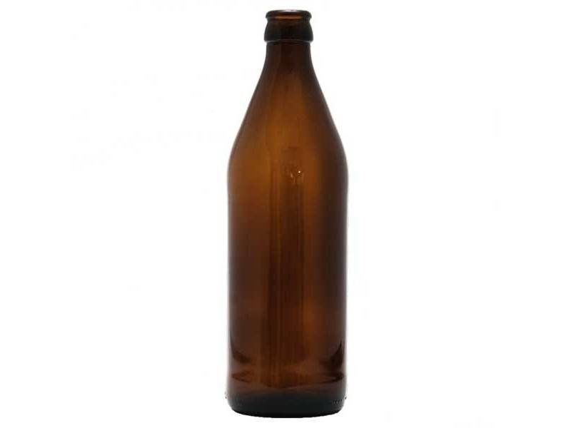 500ml Glass Euro Bottle (case of 12) 16.9 oz Belgian