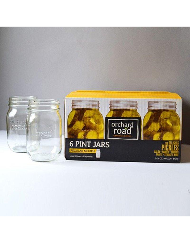 16oz Regular Orchard Road Jars Pint Mouth