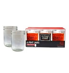 16oz Wide Orchard Road Jars Pint Mouth