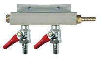 2-Way Air Manifold Distributor