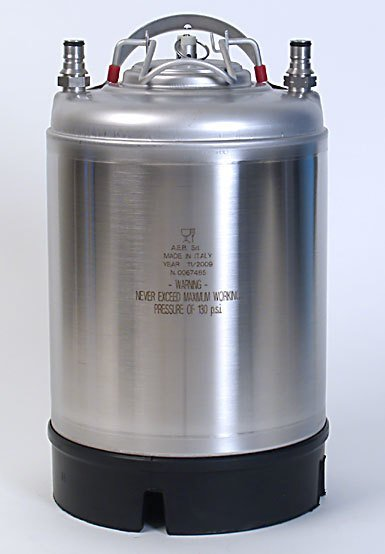 2.5 Gallon Keg New