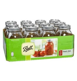 Ball 1 Quart (32 oz) Regular Mouth Jar Jars
