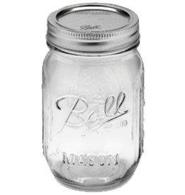 Ball Regular Mouth 16 Oz Pint Jars
