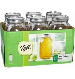 Ball Widemouth 1/2 Gallon Jars