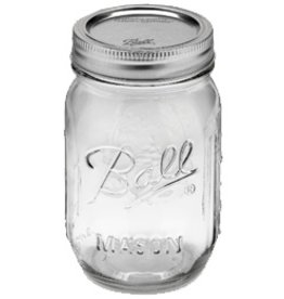 Ball 1 Pint (16 oz) Widemouth Jar Jars
