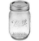 Ball Widemouth 16 Oz Pint Jars Elite