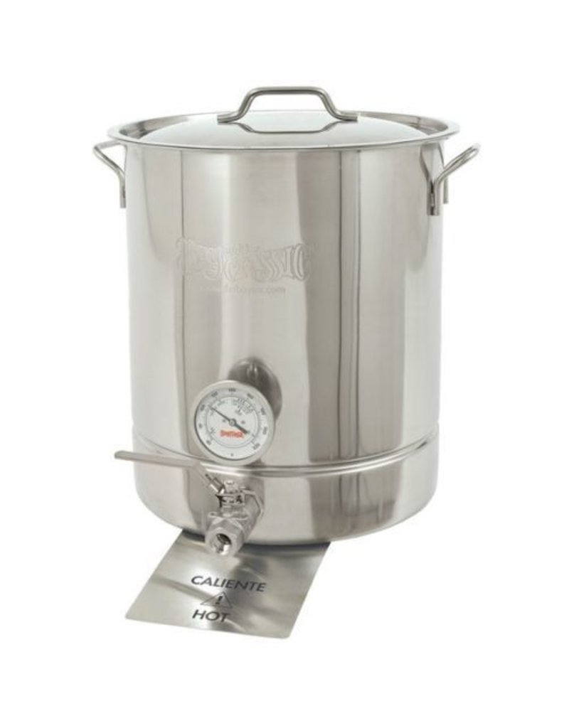 Bayou Classic Bayou Classic 16 Gallon Kettle with Spigot and Thermometer