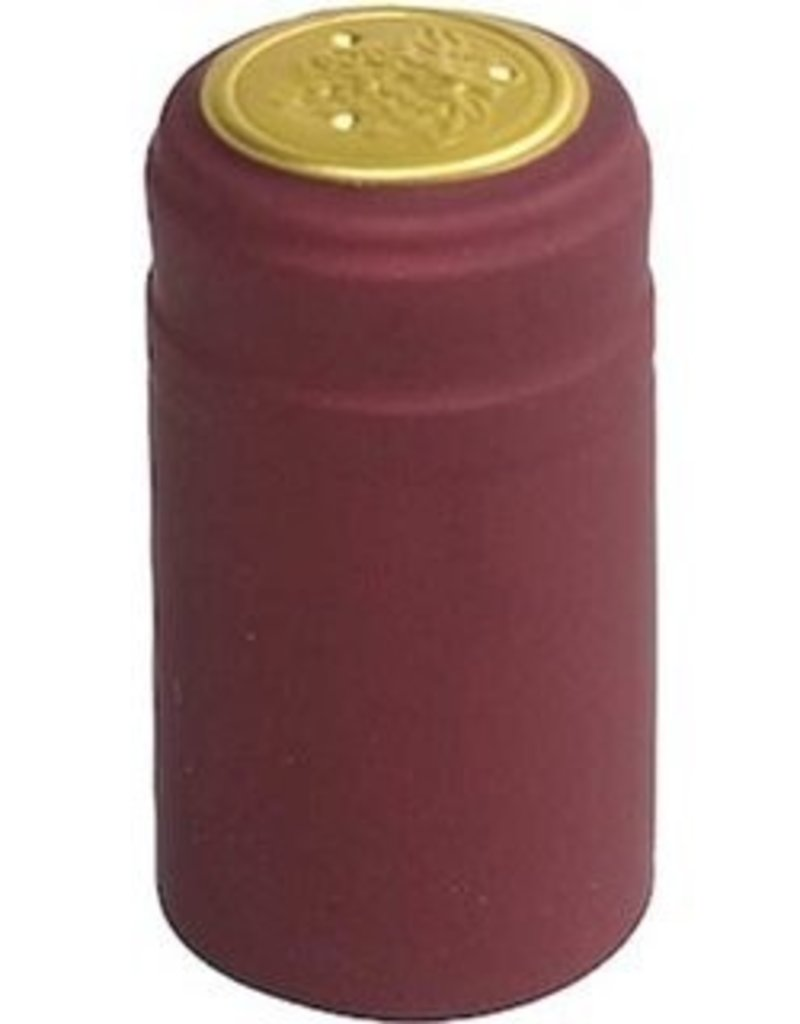 Burgundy PVC Shrinks 30/Bag