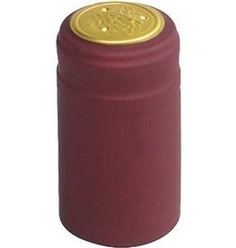 Burgundy PVC Shrink 500 Pack