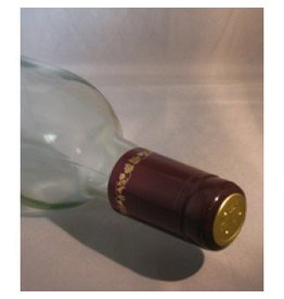 Burgundy/Gold Grape PVC Shrinks 30/Bag