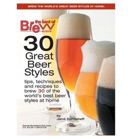 BYO 30 Great Beer Styles