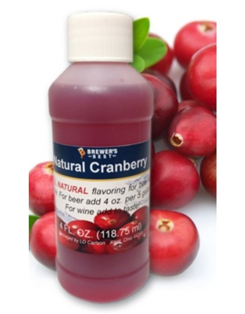 Natural Cranberry Flavor Extract