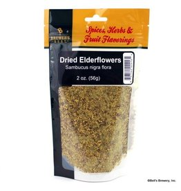 Dried Elderflowers 2oz