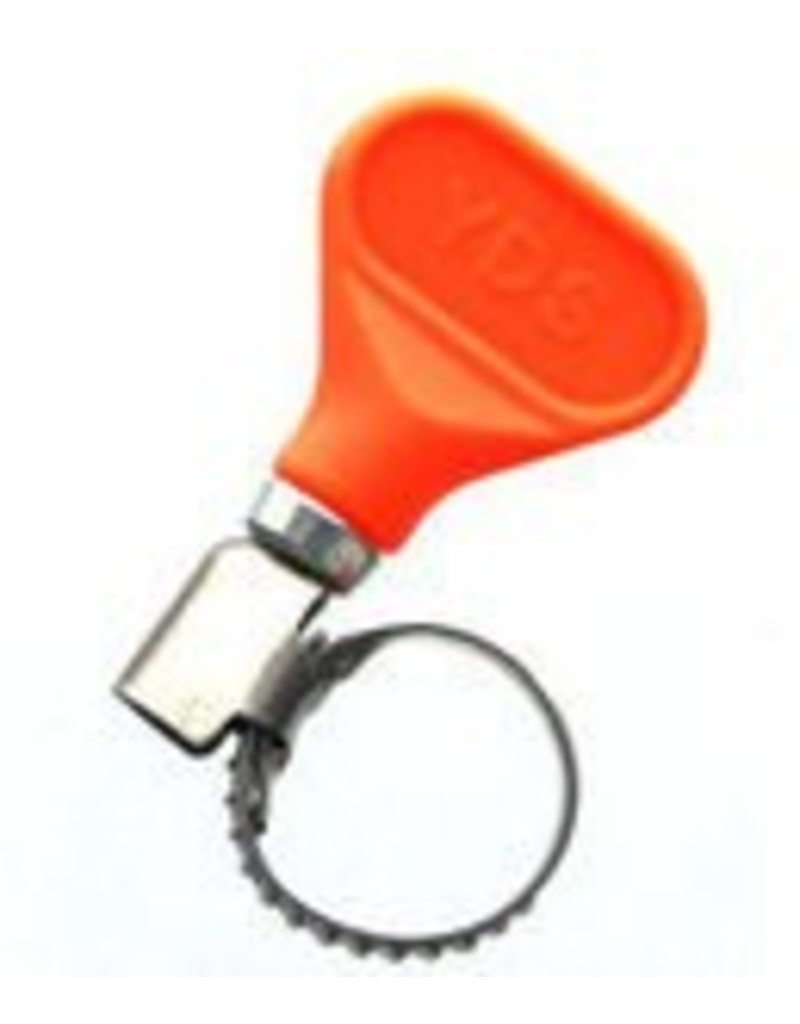 Easy Turn Hose Clamp 5/8 EZ Orange