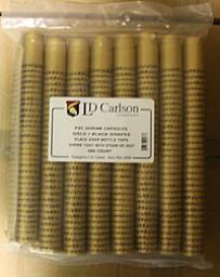 Gold / Black Grapes PVC Shrinks 30/Bag