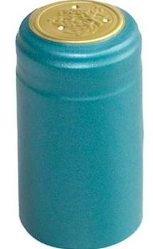 Metallic Light Blue PVC Shrinks 30/Bag