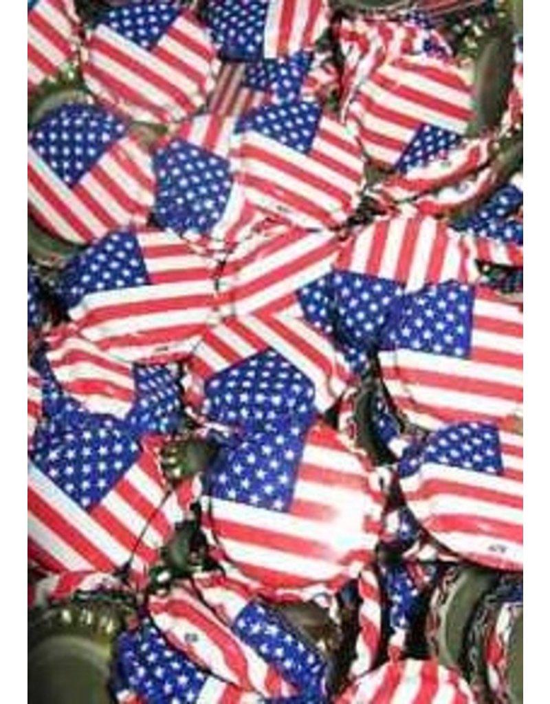 Murica Crown Caps Usa! Usa! Flag Oxygen Barrier