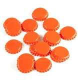 Orange Oxygen Barrier Caps